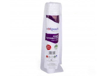 Hotpack-foam cup 6-oz - 25pcs (40 packs per carton)