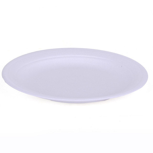 """Hotpack-round foam plate 12""""-15pcs (20 packs per carton)"""