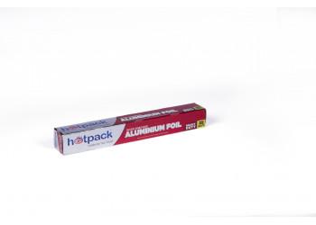 Hotpack Aluminium Foil, Embossed - 25 Square Feet ( 24 Rolls Per Carton )