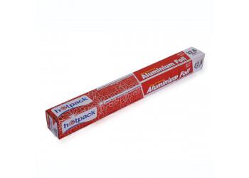 Hotpack Aluminium Foil, Embossed - 37.5 Square Feet ( 24 Rolls Per Carton )