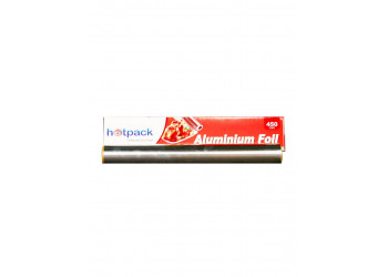Hotpack- Aluminum foil,45 CM  ( 6 Rolls Per Carton )