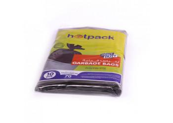 Hotpack-garbage bag 105*130cm-heavy duty- 70 gallon 10pcs (15 packs per carton)