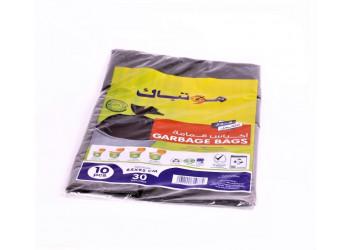 Hotpack-garbage bag 65*95cm-heavy duty-30gallon 10pcs (40 packs per carton)