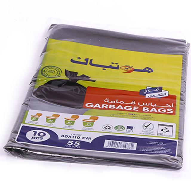 Hotpack-Garbage Bag 80*110cm-Heavy Duty-55 Gallon 10 Pieces ( 30 Packs Per Carton )