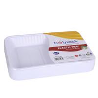 Hotpack-plastic rectangular tray-no.4–1kg 10pcs (10 packs per carton)