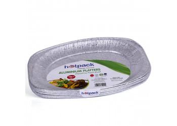 """Hotpack- Aluminum platter 6586  small   14""""- 10pcs (10 packs per carton)"""
