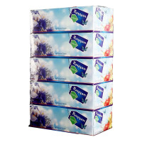 Hotpack-facial tissue 150 pulls 2ply, rayan- 5 box (6 packs per carton)