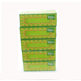 Mapco-Facial Tissue 200 Pulls 2 ply, 5 box ( 6 Packs Per Carton )