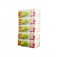 Hotpack-facial tissue 200pulls *2ply,marjan 5 box (6 packs per carton)
