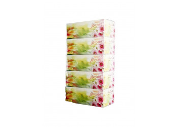 Hotpack-facial tissue 200pulls *2ply,marjan 5 box (6 packs per carton)