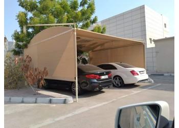 Cantiliver car park shades