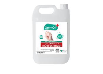 GermOff Antibacterial Hand Sanitizer ( 5LTR X 4 per Carton )
