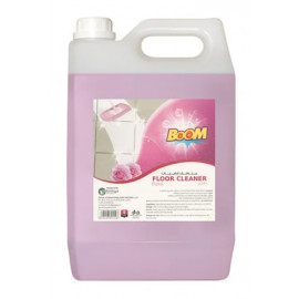 BOOM Floor Cleaner Floral Pink 5L ( 4 Pieces Per Carton )