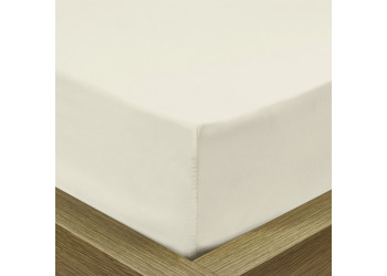 Rest Super soft Fitted sheet 120 X 200 + 25 CM-Ivory