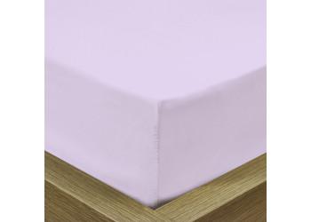 Rest Super soft Fitted sheet 120 X 200 + 25 CM-VIOLET