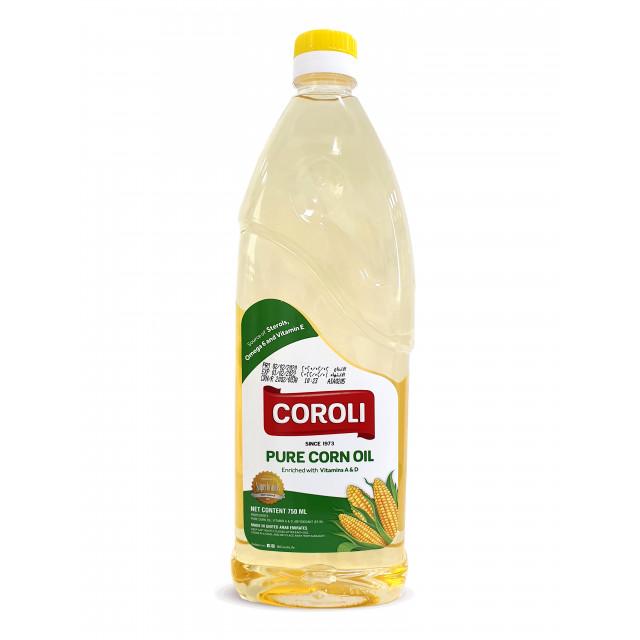 Corn Oil PET Bottle 750ML ( 1 X 12 Per Carton )