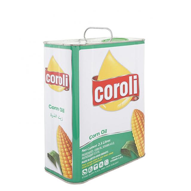 Coroli Corn Oil 2.5Ltr ( 1 X 6 Per Carton )