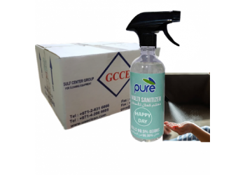 PURE SANITIZER SPRAY CONCENTRATED & MULTIPURPOSE, 500ML ( 25 Pieces Per Carton )