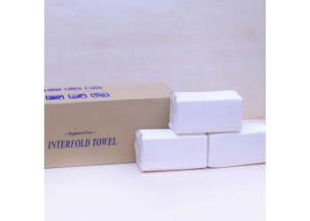 INTERFOLD TISSUE VIP KLENEX 150 SHEET, 1 PLY ( 20 Packets Per Carton )