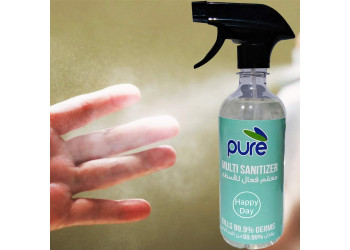 PURE SANITIZER SPRAY CONCENTRATED & MULTIPURPOSE, 500ML - For all surfaces