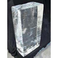 CRYSTAL CLEAR ICE BLOCKS