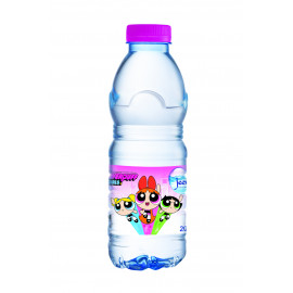 Jeema Bottle Water 200ml ( POWERPUFF GIRLS 24 pcs per shrink)