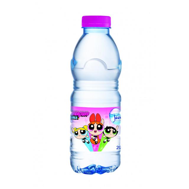 Jeema Bottle Water 200ml ( POWERPUFF GIRLS 24 pcs per shrink)
