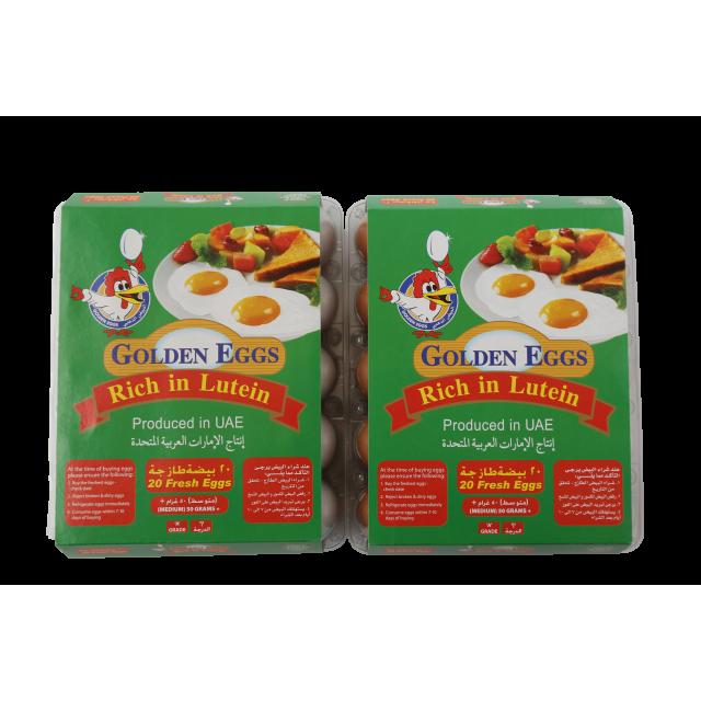 LUTEIN EGGS BROWN ( 18 X 20 Per Carton )