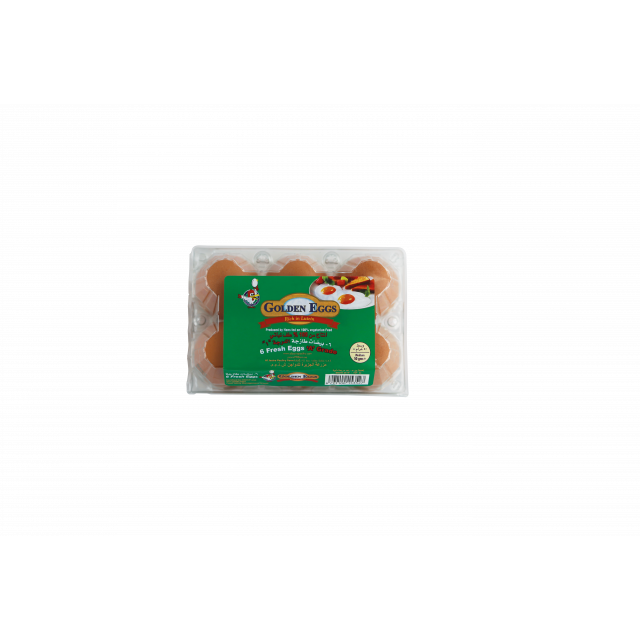 LUTEIN EGGS BROWN ( 60 X 6 Per Carton )