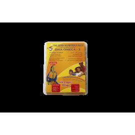 DHA OMEGA 3 BROWN ( 9 X 20 Per Carton )