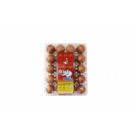 EXTRA LARGE EGGS BROWN ( 18 X 20 Per Carton )