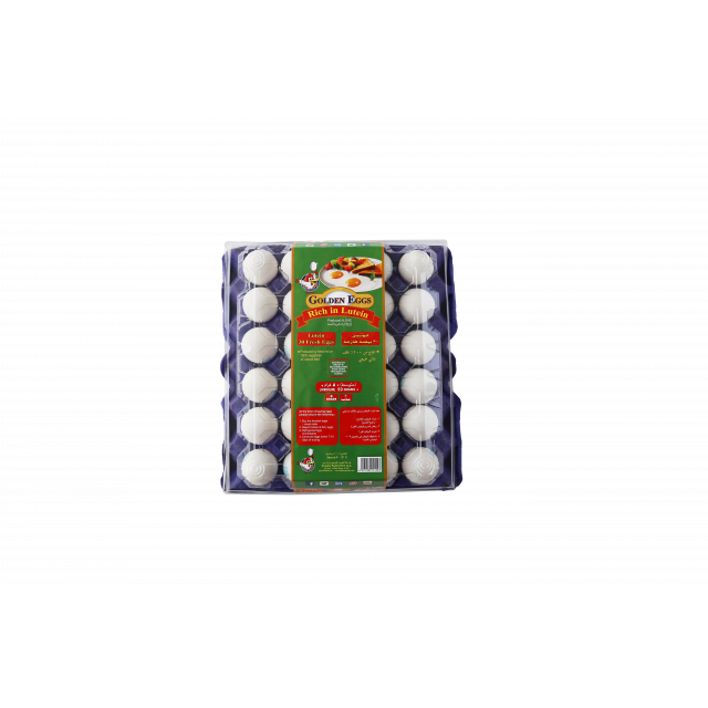 LUTEIN EGGS WHITE ( 12 X 30 Per Carton )