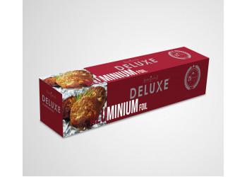 DELUXE ALUMINUM FOIL - 1 KG ( 6 Rolls Per Pack )