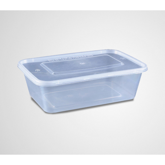 Microwave Container 650 CC Per Pack
