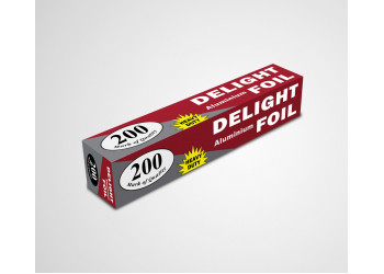 Aluminium Foil 200 Heavy Duty In 30Cm Width_DELIGHT ( Per Pack)