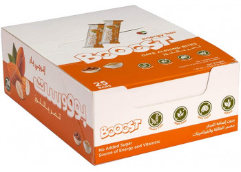 Booost - Date Almond Bites 20 grams (25 bars per box)