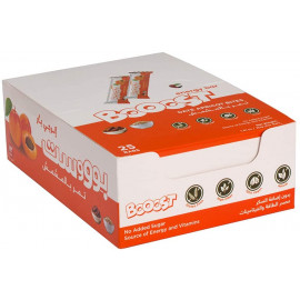 Booost - Date Apricot Bites 20grams (25 bars per box)