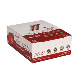 Booost - Date Strawberry Bites 20grams (25 bars per box)