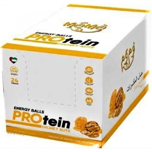 MoMo- Protein Balls-Honey Nuts 60 grams (24 bars per box)
