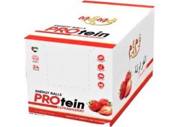 MoMo- Protein Balls-Strawberry 60 grams (24 bars per box)