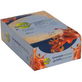 Natural Way - Caramelized Sesame 40 grams (25 bars per box)