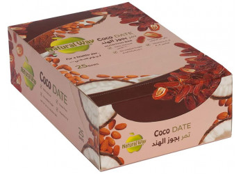 Natural Way - Coco Date 40grams (25 bars per box)