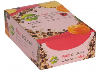 Natural Way - Fruits Delight 40gram (25 bars per box)