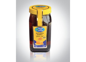 NATURAL HONEY-GLASS JAR  1 KG ( 6 Pieces Per Carton )