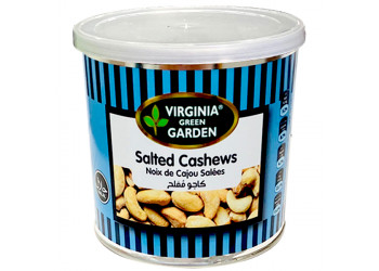 SALTED CASHEW NUTS  300 Grams ( 16 Pieces Per Carton )