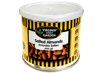 SALTED ALMONDS 110 Grams ( 24 Pieces Per Carton )