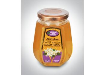 ACACIA HONEY- GLASS JAR 500 Grams ( 12 Pieces Per Carton )