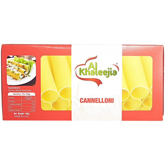 CANNELLONI K 250 Gram ( 20 Pieces Per Carton )