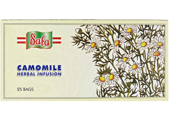 CAMOMILE TEA BAGS 2 Grams (BABUNAGE 25 Pack Per Carton )