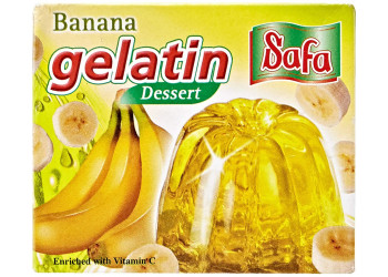 JELLY POWDER - BANANA 75 Grams ( 48 Pieces Per Carton )